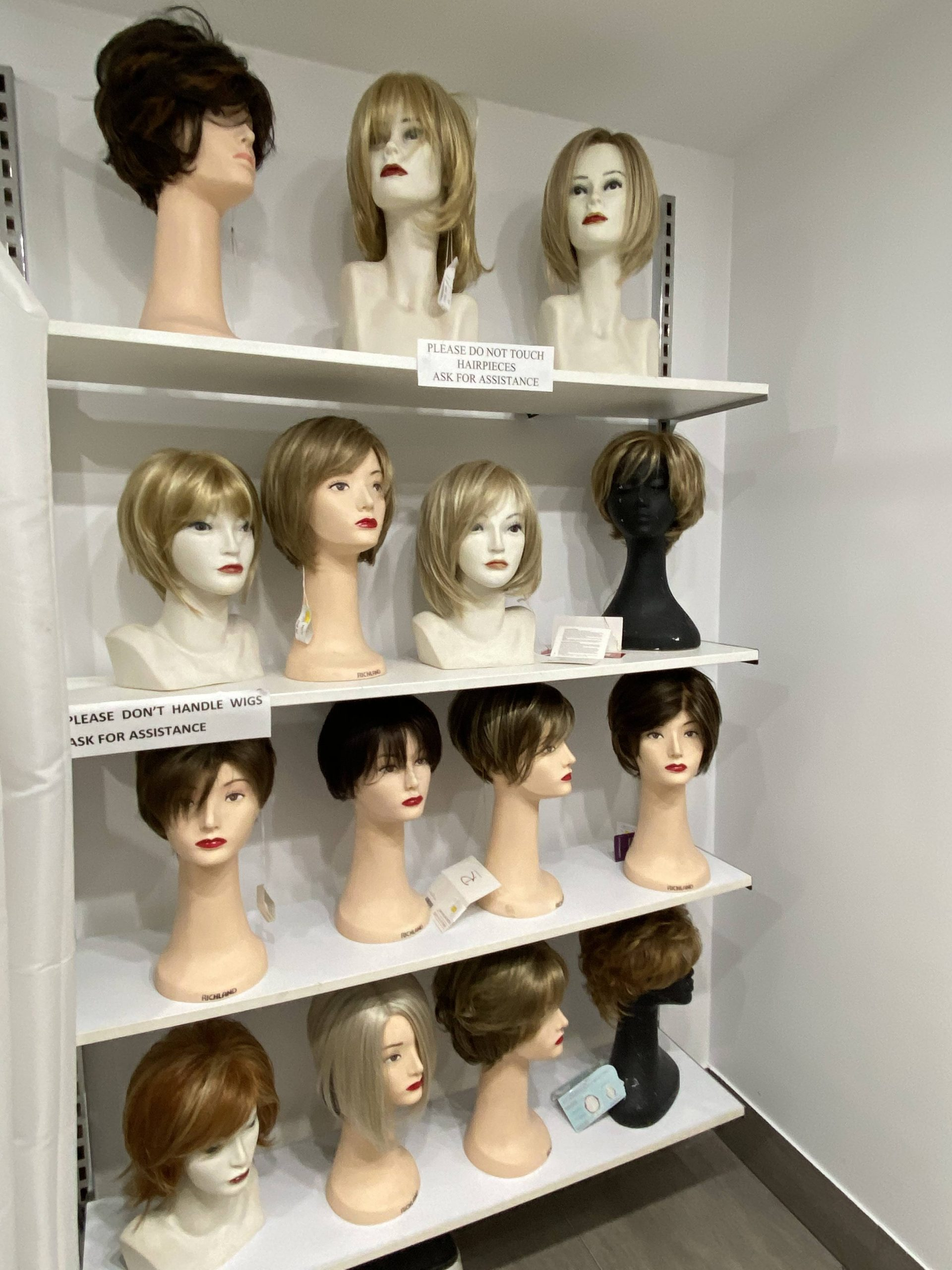 real hair wigs services